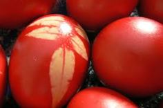 Oeufs rouges